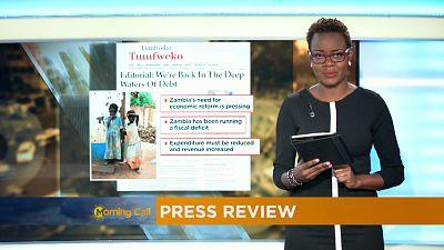 Revoir la revue de presse du 14-12-2016[Le Morning Call]