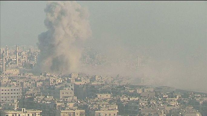 Kiújultak a harcok Aleppóban
