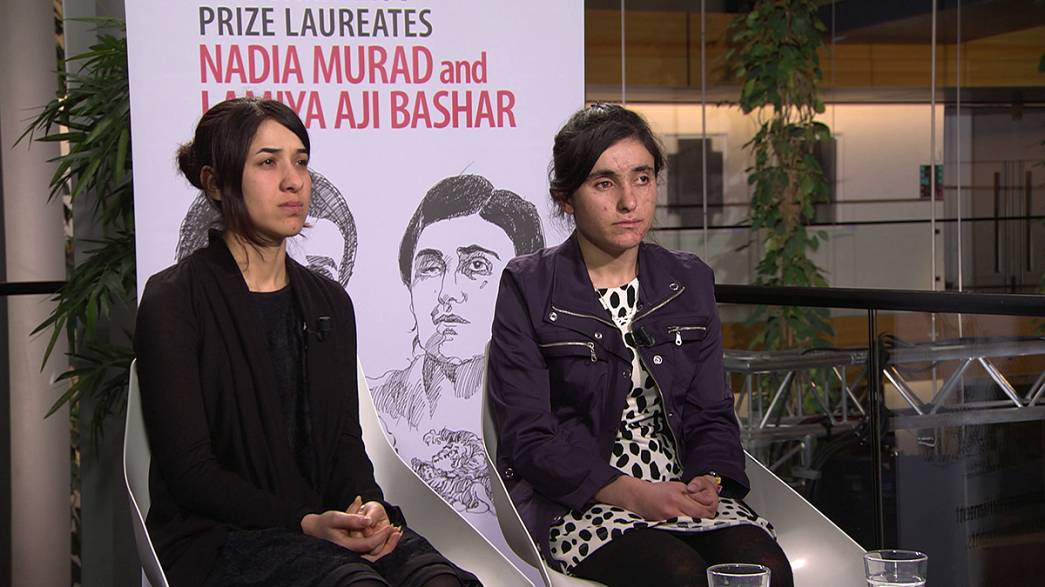 الإزيديتان نادية مراد ولمياء بشار شاهدتان على وحشية داعش
