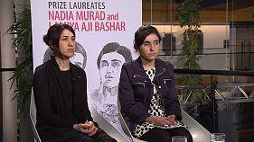 گفتگو با برندگان جایزه ساخاروف سال ۲۰۱۶ میلادی
