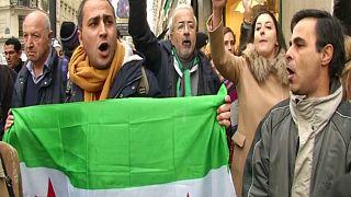 Parigi, manifestazione per Aleppo