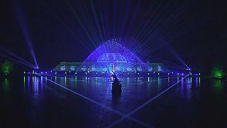 Kew Gardens yeni yıla hazır