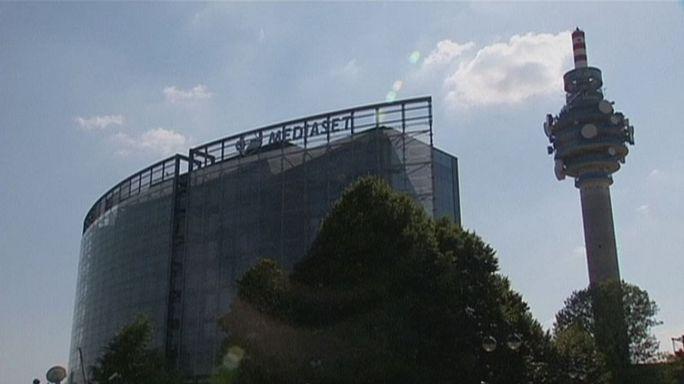 Vivendi compra 12,3% do capital da Mediaset
