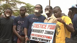 13 minutes of silence for journalist, Norbert Zongo assassinated in Burkina Faso [No comment]