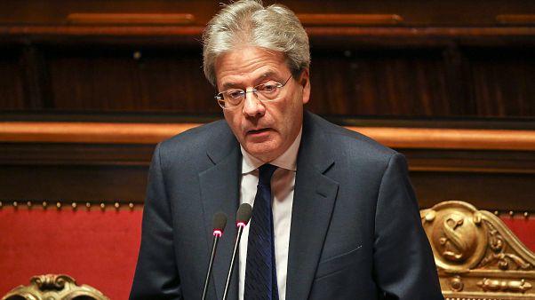 رئيس وزراء ايطاليا يحصل على ثقة مجلس الشيوخ