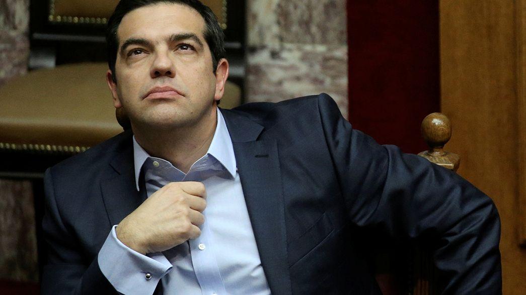 Zona euro suspende medidas de alívio da dívida grega