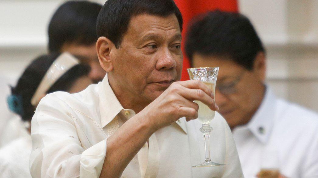 رئيس الفيليبين يصرح أنّه قتل أشخاصا حين كان عمدة لبلدية دافاو