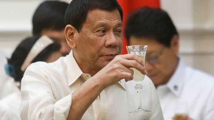 Presidente das Filipinas já matou para dar exemplo à polícia
