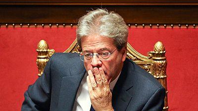 Italian caretaker PM receives Senate backing to start work