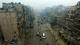 Halep'te tahliyeler başladı