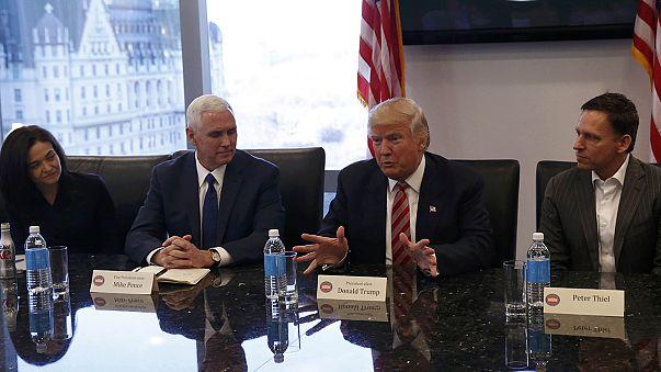 Trump trifft Silicon Valley