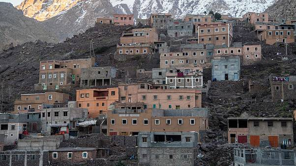 Image: Imlil is a tourist village in the High Atlas range