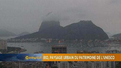 Grand angle: Rio, paysage urbain du patrimoine de l'Unesco