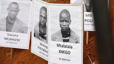 Les restes de militants anti-apartheid exhumés en Afrique du Sud