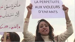 Tunisians protest against court approval of marriage of pregnant 13-year old
