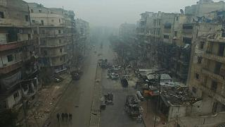 Aleppo hit by air strikes and shelling