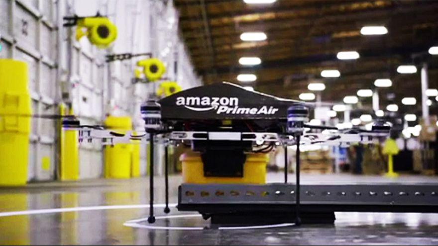 Amazon insansız hava aracı ile ilk ürün teslimini yaptı