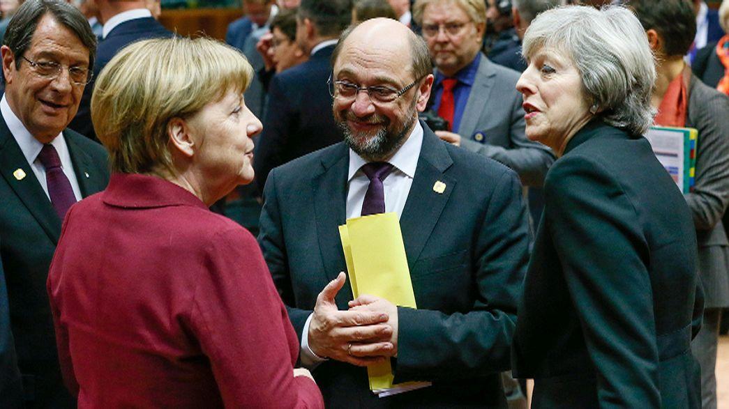 الإعلان عن بدء القمة الأوروبية الأخيرة لهذا العام في بروكسل