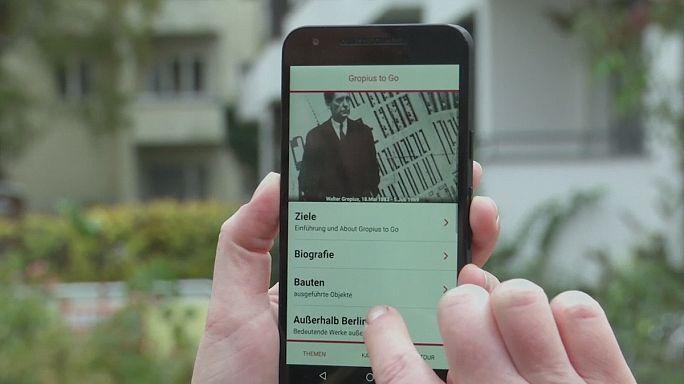 Okostelefon applikáció kelti életre a Bauhaus világát