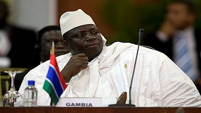 Gambia's Jammeh risks sanctions if he cling to power
