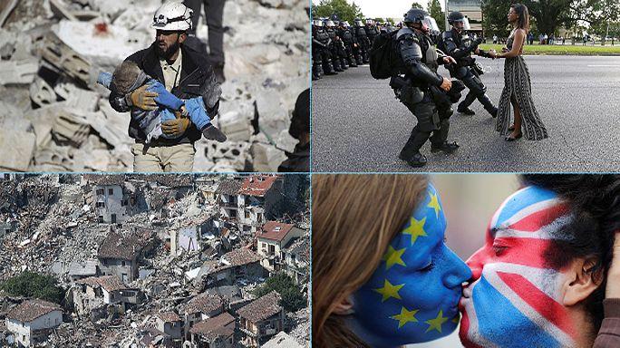 2016 год в фотографиях Reuters