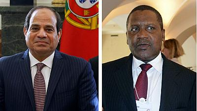 2016 'World's Most Powerful People' - El Sisi and Dangote listed