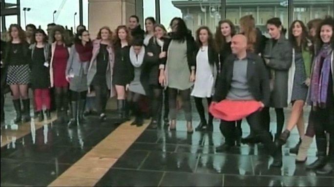 Israeli parliament leader denies 'Taliban' attitude to female dress code