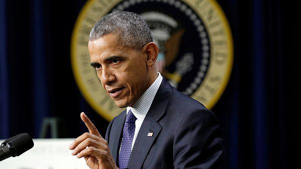 """Obama """"vows retaliation"""" against Russia"""