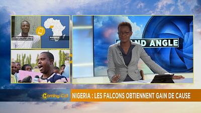 Super Falcons protest in Nigeria [The Morning Call]