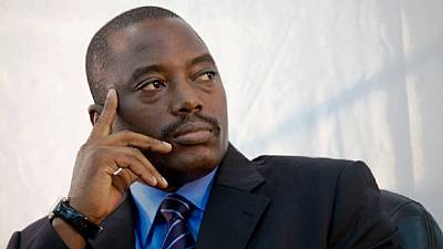 DRC's President Kabila warned of major violence if he fails to step down