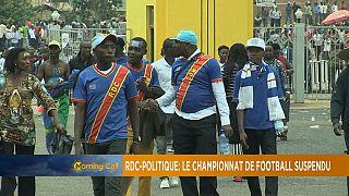Rdc : le championnat de football suspendu suite aux tensions politiques [rubrique Sports du MC]