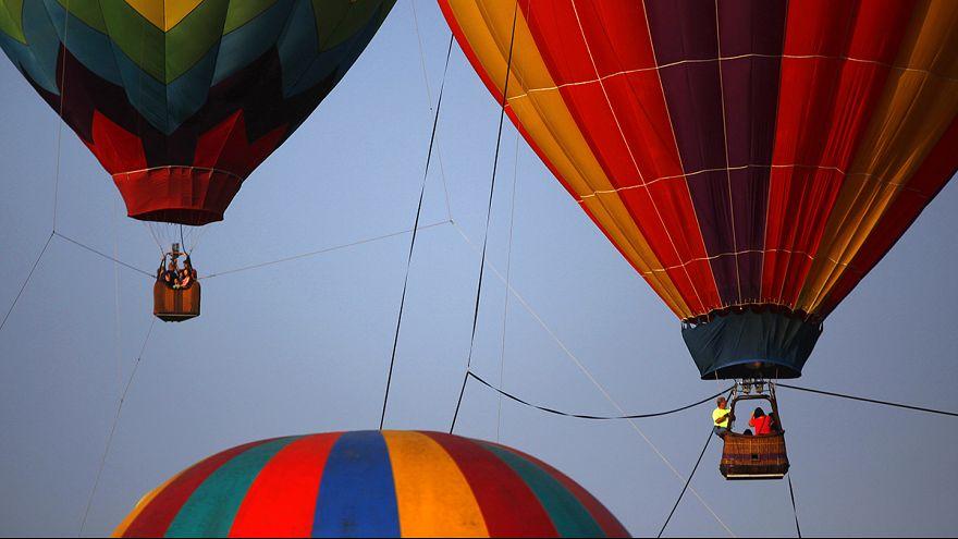 Festival Internacional de Globos aerostáticos en Luxor