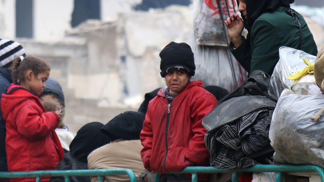 Алеппо: эвакуация продолжается с перебоями