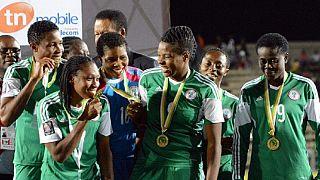 Les footballeuses nigérianes recevront leurs primes de victoire