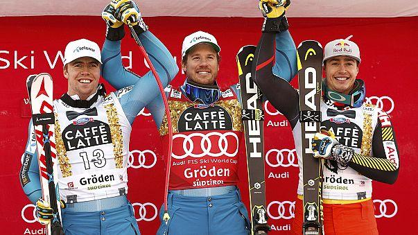 Esqui Alpino: As descidas para vitória de Kjetil Jansrud e Ilka Sthuec