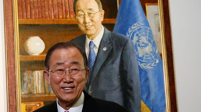 New York: l'Onu rende omaggio al segretario generale Ban Ki-moon