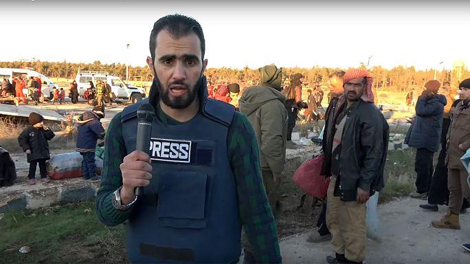 المراسل السوري هادي العبد الله يدلي بشهادته حول إجلاء السكان من حلب الشرقية