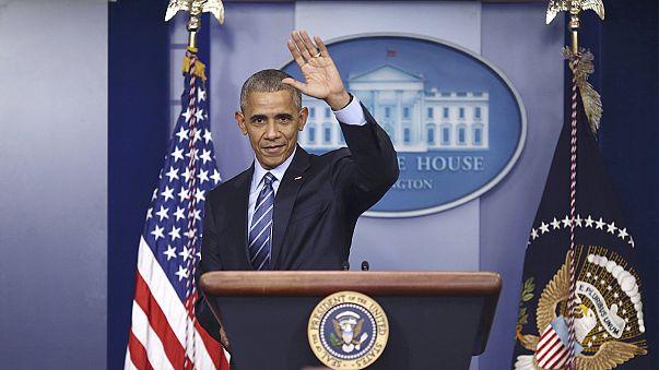 Rückblick auf das Jahr und die Amtszeit - Obama stellt sich in Washington der Presse