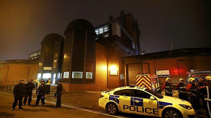 Riot officers regain control of British jail