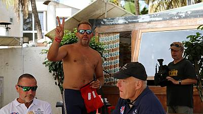 Briton Ben Hooper postpones expedition to swim from Senegal to Brazil
