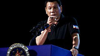 """Filipinler Devlet Başkanı Duterte: """"Bizzat üç kişiyi öldürdüm"""""""