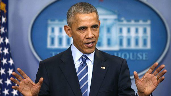 اوباما: دست رژیم اسد، روسیه و ایران به خون و وحشیگری آلوده است