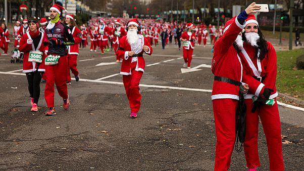 سباق سانتا كلوس في مدريد