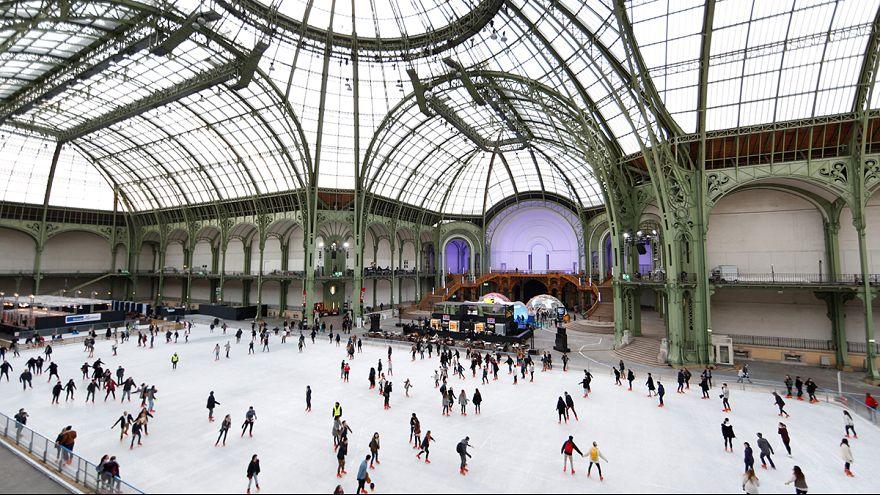 Pattinare sul ghiaccio a Parigi
