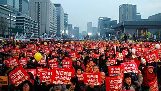 Más protestas en Corea del Sur, a favor y en contra de la presidenta Park