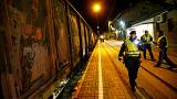 Freight trains searched in Austria after migrants crushed to death