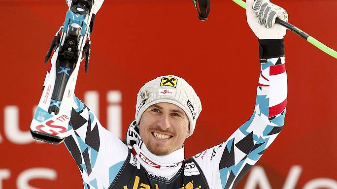 Max Franz leaves Svindal in the shade at Val Gardena