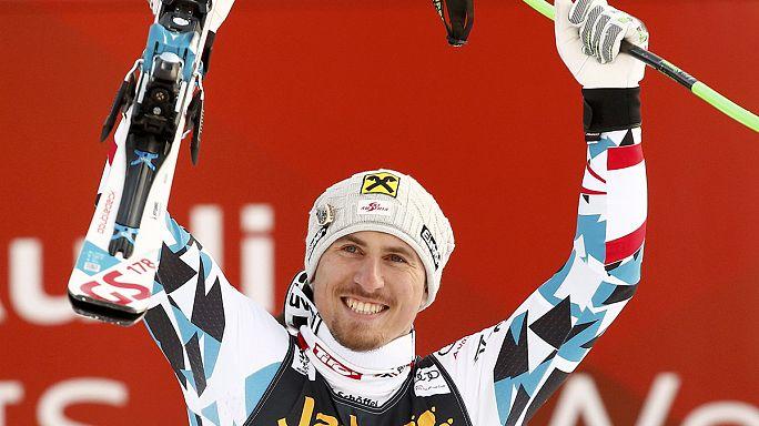 Sci alpino, in Val Gardena vince l'austriaco Franz