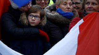 Polonya'da basın özgürlüğü kısıtlaması protestosu