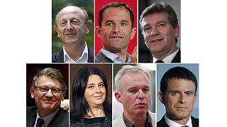 La izquierda francesa presenta a sus siete candidatos a las primarias